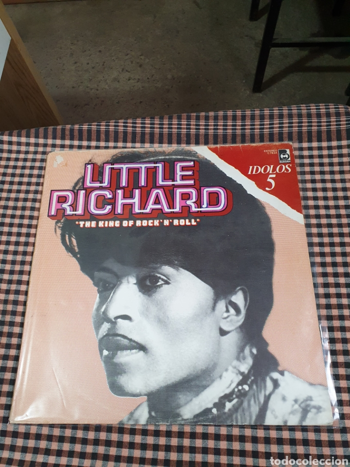 LITTLE RICHARD – THE KING OF ROCK'N'ROLL, BUDDAH RECORDS – C 7834, IDOLOS – 5, 1978, ESPAÑA. (Música - Discos - LP Vinilo - Rock & Roll)