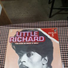 Discos de vinilo: LITTLE RICHARD – THE KING OF ROCK'N'ROLL, BUDDAH RECORDS – C 7834, IDOLOS – 5, 1978, ESPAÑA.. Lote 203410895