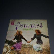 Discos de vinilo: EST 9. D13. VINILO DE 45 RPM. REMMES. MUJERES. NATHALIE Y CHRISTINE. Lote 203419506
