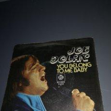 Discos de vinilo: EST 9. D15. VINILO DE 45 RPM. JOE DÓLAN. Y0U BELONG TO ME BABY. Lote 203421296