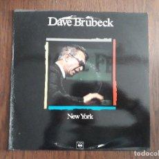 Discos de vinilo: DISCO VINILO LP, MAESTROS DEL JAZZ, DAVE BRUBECK, NEW YORK. CBS CSP 982 149-1, AÑO 1989. Lote 203421331