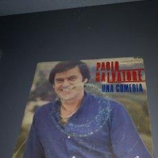 Discos de vinilo: EST 9. D16. VINILO DE 45 RPM. PAOLO SALVATORE. UNA COMEDIA.. Lote 203421802