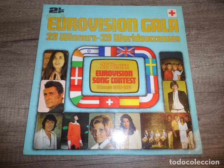EUROVISION GALA - 29 WINNERS - 29 WORLDSUCCESSES (Música - Discos - LP Vinilo - Festival de Eurovisión)