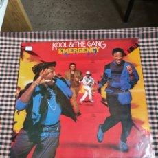 Discos de vinilo: KOOL & THE GANG ?– EMERGENCY, DE-LITE RECORDS ?– SPL1-50059, 1984, ESPAÑA.. Lote 203428755