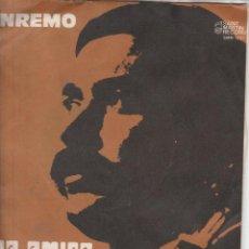Discos de vinilo: 45 GIRI RARO BASSANO CARA AMICA SAINT MARTIN RECORDS CGD DISTR SANREMO 1973 BRANO NON FINALISTA. Lote 203437165