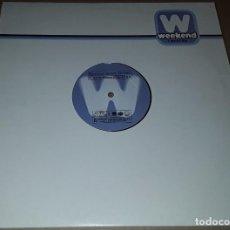 Disques de vinyle: MAXI SINGLE - MIGUEL BOSE - SERENO - MIGUEL BOSE - SERENO REMIXES - DR. KUCHO / WALLY LOPEZ. Lote 203442871