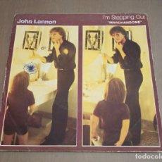 Discos de vinilo: JOHN LENNON – I'M STEPPING OUT MARCHANDOME EDICION ESPAÑOLA. Lote 203443180