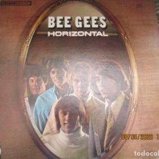 Discos de vinilo: BEE GEES - HORIZONTAL LP - ORIGINAL U.S.A. - ATCO RECORDS 1968 . STEREO -. Lote 203444823