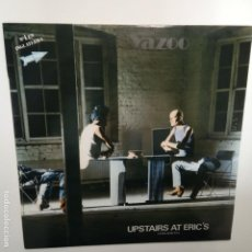 Discos de vinilo: YAZOO- UPSTAIRS AT ERIC´S - SPAIN LP 1992 + ENCARTE - VINILO EXC. ESTADO.. Lote 203446292
