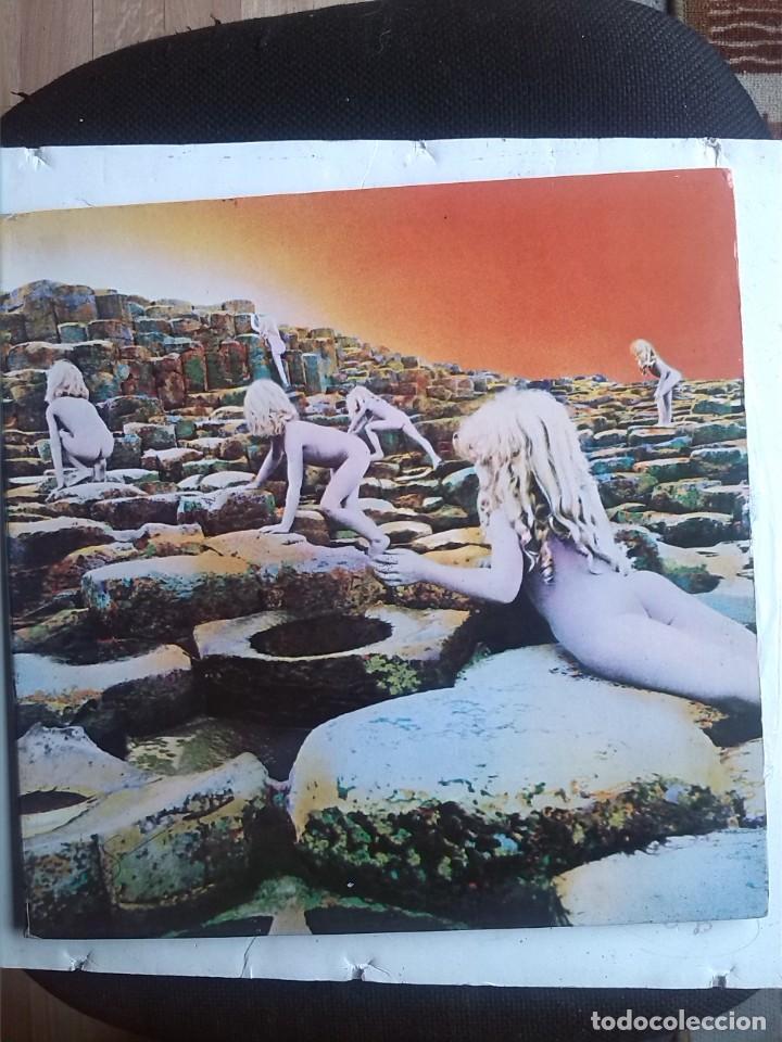 LED ZEPPELIN - HOUSES OF THE HOLY EDICION DEL 1973 GATEFOLD (Música - Discos - LP Vinilo - Pop - Rock - Internacional de los 70)