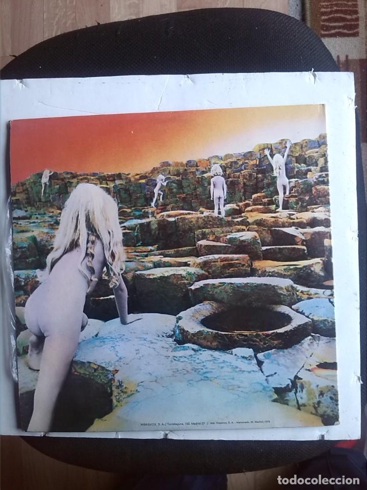 Discos de vinilo: LED ZEPPELIN - HOUSES OF THE HOLY EDICION DEL 1973 GATEFOLD - Foto 3 - 203446396