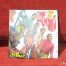 Discos de vinilo: LOS GEMINIS, SINGLE DIZZY / VIEJO CASTILLO VERGARA. Lote 203447205