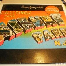 Discos de vinilo: LP BRUCE SPRINGSTEEN. GREETINGS FROM ASBURY PARK. CBS 1977 SPAIN (PROBADO Y BIEN, BUEN ESTADO). Lote 203451397