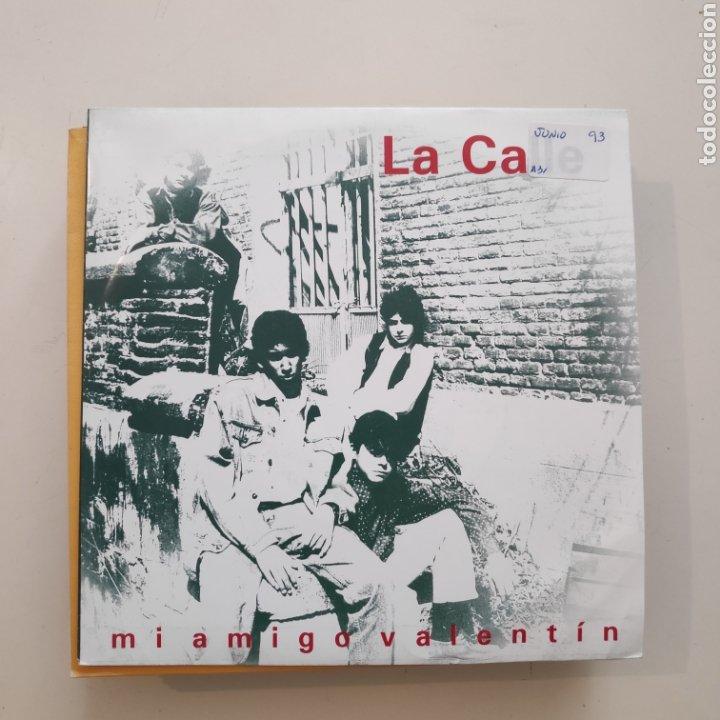 NT LA CALLE - MI AMIGO VALENTIN 1993 DRO SPAIN SINGLE VINILO (Música - Discos - Singles Vinilo - Grupos Españoles de los 90 a la actualidad)