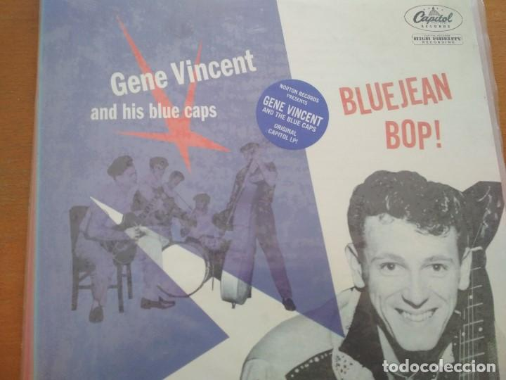 GENE VINCENT & HIS BLUE CAPS BLUEJEAN BOP LP ¡¡PRECINTADO¡¡ (Música - Discos - LP Vinilo - Rock & Roll)