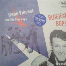 Discos de vinilo: GENE VINCENT & HIS BLUE CAPS BLUEJEAN BOP LP ¡¡PRECINTADO¡¡. Lote 203455975