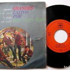 Discos de vinilo: LOS TEEN TOPS - GRANDES EXITOS POR LOS TEEN TOPS - POPOTITOS +3 - EP CBS 1963 BPY. Lote 203472515