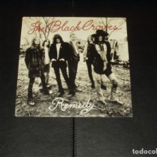 Discos de vinilo: BLACK CROWES SINGLE REMEDY. Lote 203474460