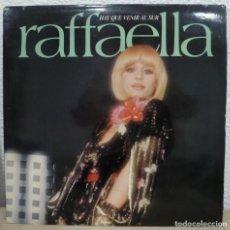 Disques de vinyle: RAFFAELLA CARRA - HAY QUE VENIR AL SUR (LP CBS 1978 ESPAÑA). Lote 203481853