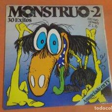 Discos de vinilo: 30 ÉXITOS, MONSTRUO 2, - DOBLE LP- POLYSTAR , VER FOTOS. Lote 203484391