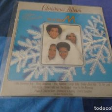 Discos de vinilo: DESOPILANTE Y TERRIBLE LP BONEY M CHRISTMAS ALBUM 1984 BUEN ESTADO. Lote 203486291