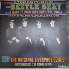 Discos de vinilo: THE BEETLE BEAT - I WANT TO HOLD YOUR HAND LP - ORIGINAL U.S.A. - CORONET RECORDS 1964 - STEREO -. Lote 203490695