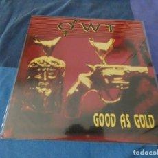 Discos de vinilo: CURIOSISIMO LP JAZZ Y ELECTRONICA OWT GOOD AS GOLD 1989 MUY BUEN ESTADO. Lote 203506290