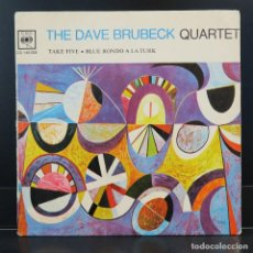 Discos de vinilo: THE DAVE BRUBECK QUARTER SINGLE TAKE FIVE. Lote 203520571