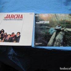 """Discos de vinilo: LP DE JARCHA Y EMILIO JOSE """"SOLEDAD"""". Lote 203536571"""