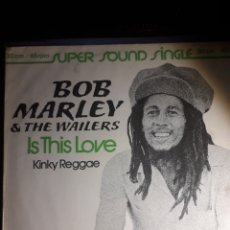 Discos de vinilo: BOB MARLEY&THE WAILERS IS THIS LOVE. Lote 203536598