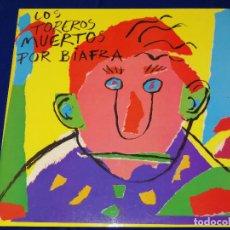 Discos de vinilo: LOS TOREROS MUERTOS -POR BIAFRA. Lote 203539121