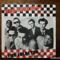 Discos de vinilo: THE SPECIALS - GANGSTERS + SELECTER - THE SELECTER. Lote 203556090