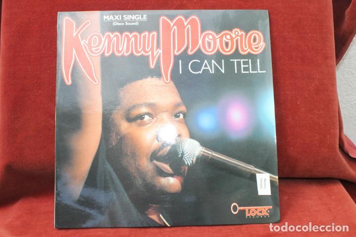 MAXI SINGLE, DISCO SOUND, KENNEY MOORE, I CAN TELL, 1987 PROMO (Música - Discos de Vinilo - Maxi Singles - Pop - Rock - New Wave Internacional de los 80)