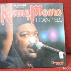 Discos de vinilo: MAXI SINGLE, DISCO SOUND, KENNEY MOORE, I CAN TELL, 1987 PROMO. Lote 203557432