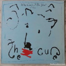 "Discos de vinilo: THE CURE. WHY CAN´T BE YOU. 12"" REMIX. MAXI SINGLE ESPAÑA 2 TEMAS DIFERENTES MEZCLAS. Lote 203559906"
