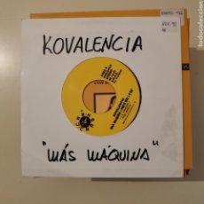 Discos de vinilo: NT KOVALENCIA - MAS MAQUINA (PARTI MIX) 1992 RUTA BAKALAO VALENCIA. Lote 203561190