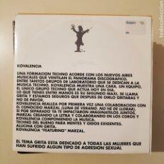 Discos de vinilo: NT KOVALENCIA - GRITA 1993 RUTA BAKALAO VALENCIA SPAIN SINGLE VINILO. Lote 203561510