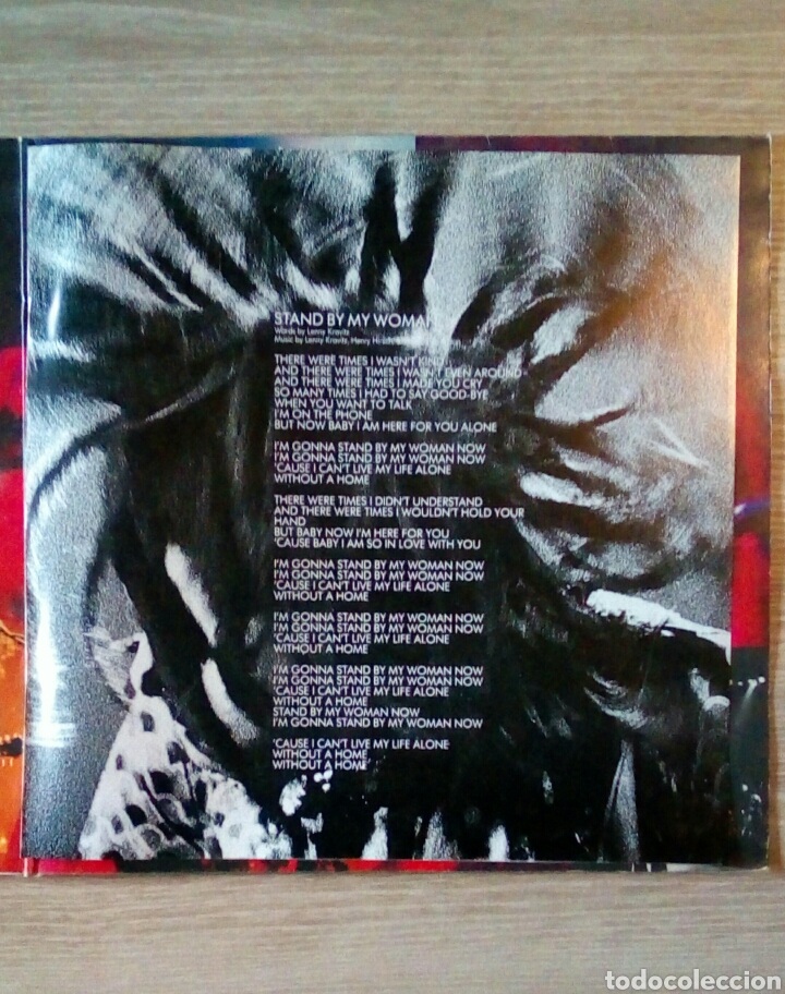 "Discos de vinilo: Lenny Kravitz - Stand by my woman, Ep 12"", Virgin 1991. UK. - Foto 4 - 203566448"