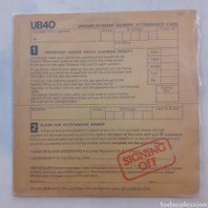 Discos de vinilo: UB40. SIGNING OFF. GRADUATE RECORDS GRADLP 2. 1 LP + 1 MAXISINGLE. UK 1980.. Lote 203574171