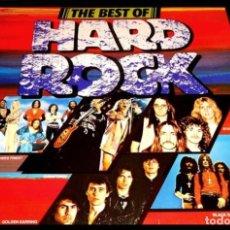 Discos de vinilo: V870 - THE BEST OF HARD ROCK. BLACK SABBATH. STATUS QUO. RAM JAM... LP VINILO. Lote 203574731