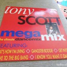 Discos de vinilo: TONY SCOTT MEGAMIX-THE ULTIMATE DANCE MIX. MAXI. Lote 203577246