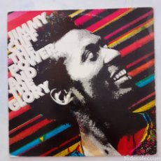 Discos de vinilo: JIMMY CLIFF. THE POWER AND THE GLORY. CBS 25761. ESPAÑA 1983.. Lote 203581253