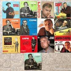 Discos de vinilo: CAPRI, COLECCION LOTE 13 SINGLES. Lote 203583765