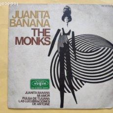 Dischi in vinile: THE MONKS - EP ESPAÑOL - PULGA DE TIJUANA. Lote 203585576