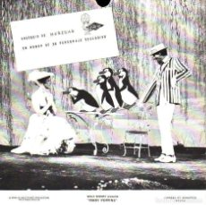 Discos de vinilo: MARY POPPINS - DISCO FLEXIBLE OBSEQUIO DE MUÑECAS FAMOSA. Lote 203592298