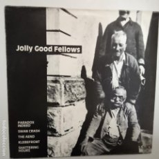 Discos de vinilo: JOLLY GOOD FELLOWS - GERMAN LP 1991 + LIBRETO- RECOPILATIRIO GRUPOS ROCK/PUNK/INDIE- VINILO NUEVO.. Lote 203596703