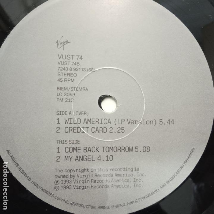 Discos de vinilo: IGGY POP- WILD AMERICA - UK EP 1993 - VINILO COMO NUEVO. - Foto 3 - 203597360