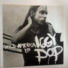 Discos de vinilo: IGGY POP- WILD AMERICA - UK EP 1993 - VINILO COMO NUEVO.. Lote 203597360