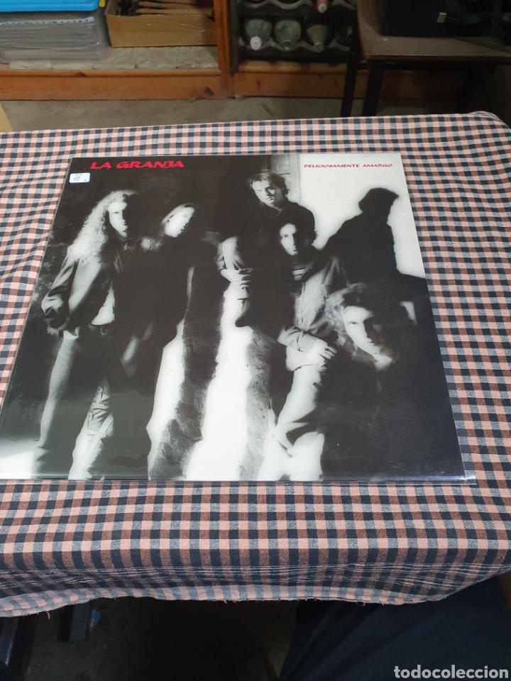 LA GRANJA – DELICIOSAMENTE AMARGO, 3 CIPRESES, 4C0836, 1991, ROCK, POP, ESPAÑOL. (Música - Discos - LP Vinilo - Rock & Roll)
