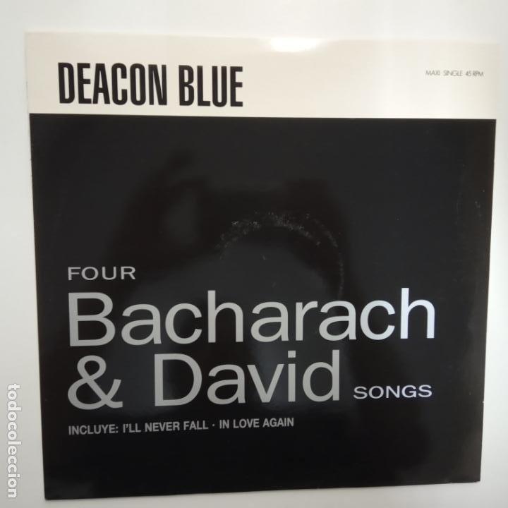 DEACON BLUE- FOUR BACHARACH & DAVID SONG - SPAIN MAXI SINGLE 1990- VINILO COMO NUEVO. (Música - Discos de Vinilo - Maxi Singles - Pop - Rock Extranjero de los 90 a la actualidad)